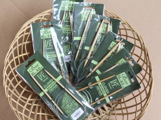 Clover Bamboo Circular Needles