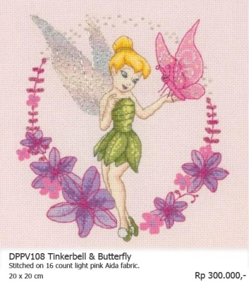 Cross St DPPV108 Tinkerbell