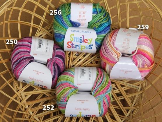 Sirdar Snuggly Smiley Stripes