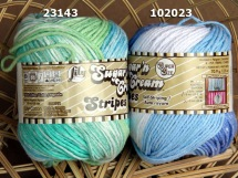 Sugar n Cream Super Size Stripes