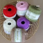 New Bernat Handicrafter Crochet Thread 85g