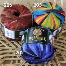 New Lion Brand Incredible 100g