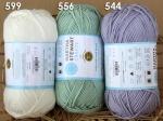 New Lion Brand Martha Stewart Extra Soft Wool Blend 100g