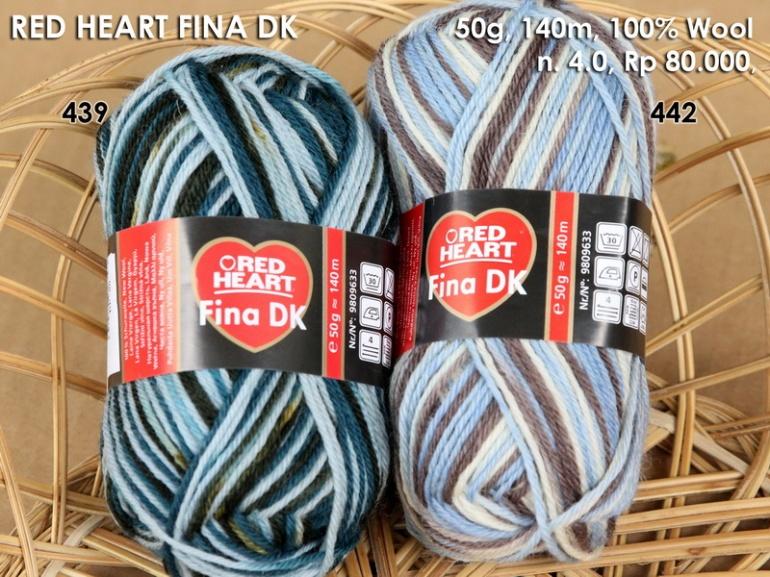 Red Heart Fina DK