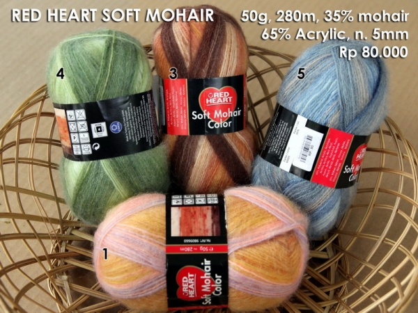 Red Heart Soft Mohair