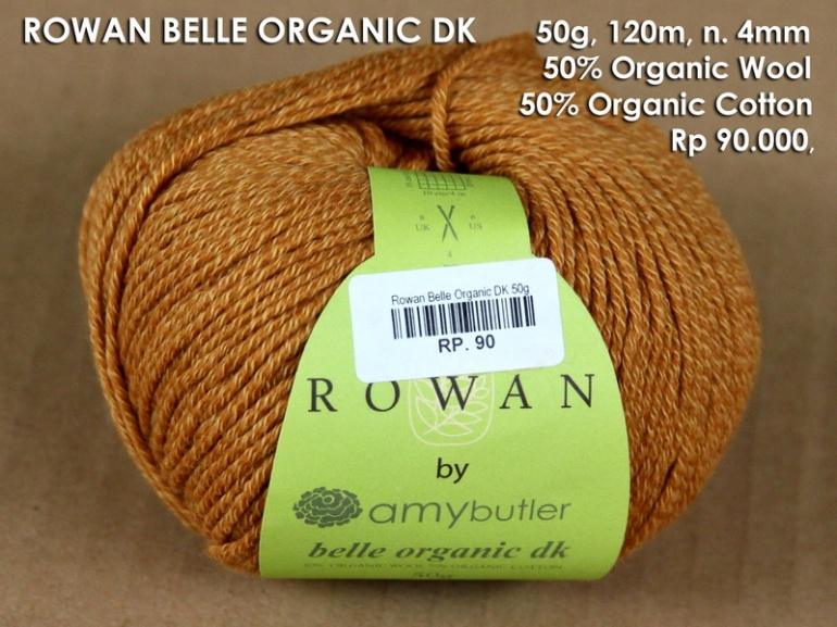 Rowan Belle Organic DK