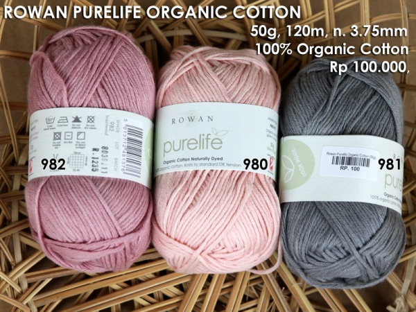 Rowan Purelife Organic Cotton