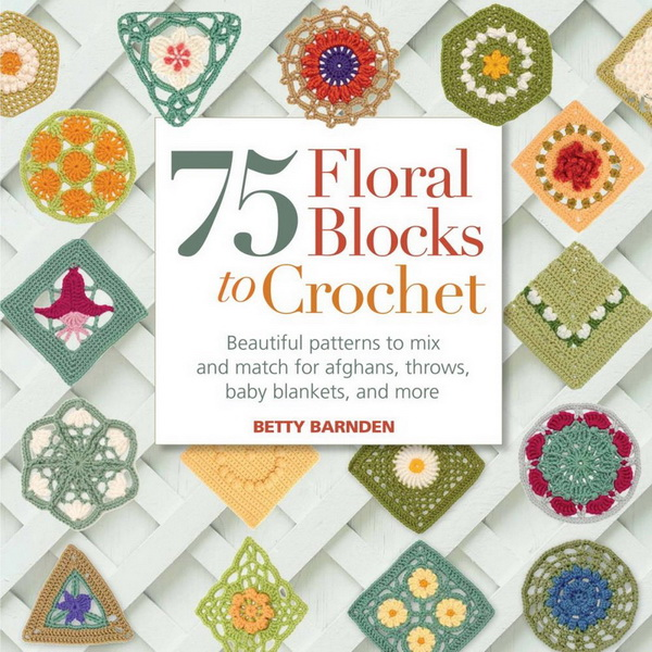75 Floral Block To Crochet