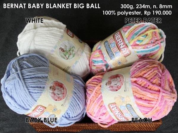 Bernat Baby Blanket Big Ball