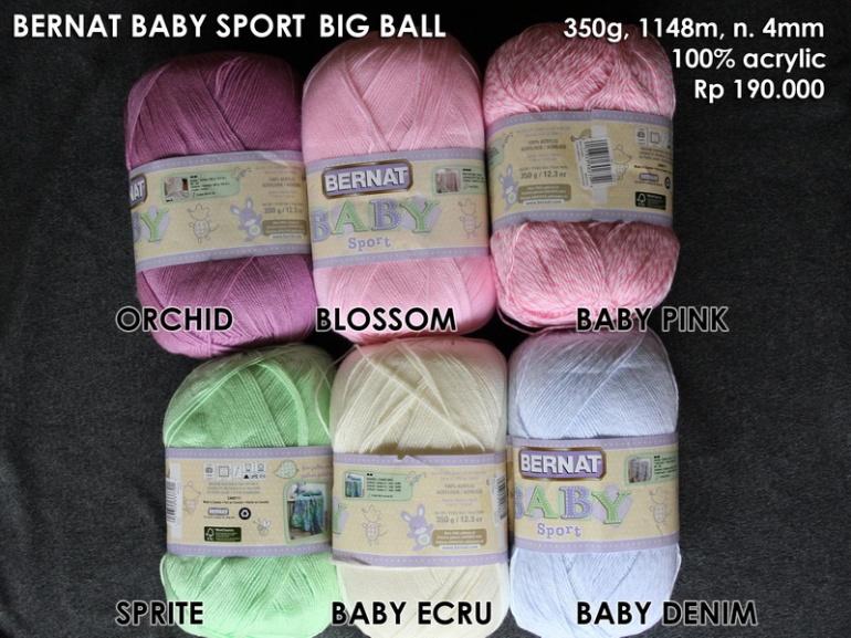 Bernat Baby Sport