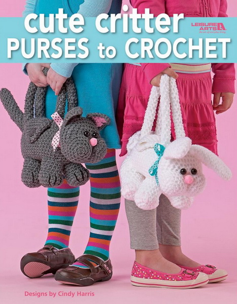 Cute Critter Purses To Crochet