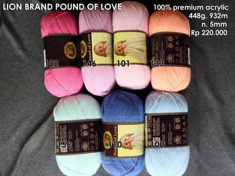 Lion Brand Pound Of Love Baby
