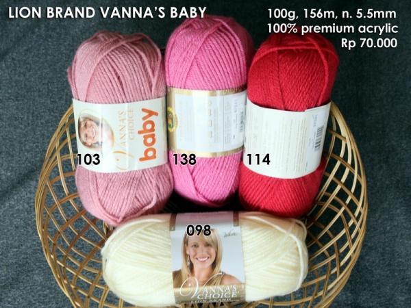 Lion Brand Vanna's Baby