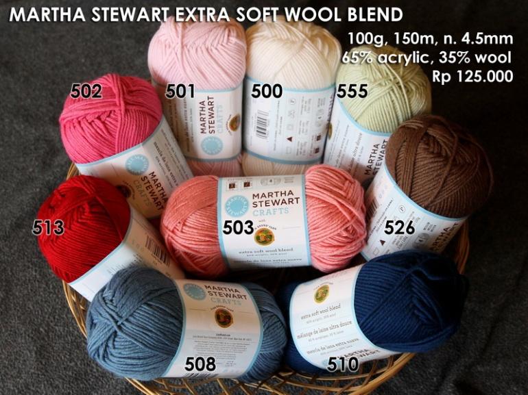 Martha Stewart Extra Soft Wool Blend