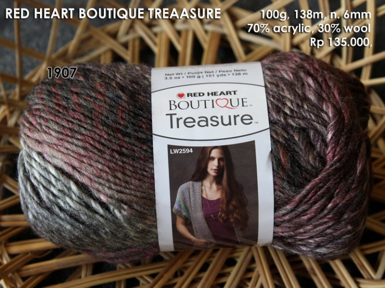 Red Heart Boutique Treasure
