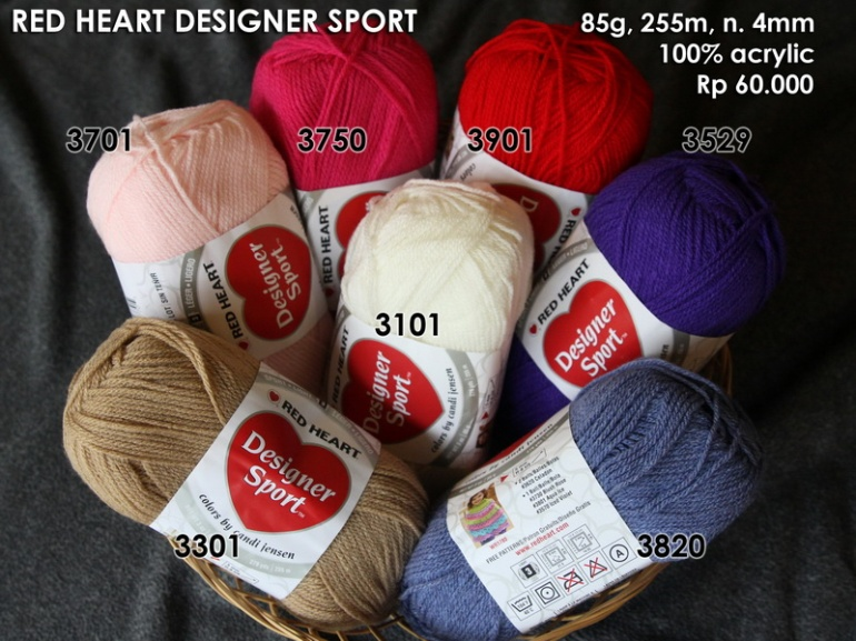 Red Heart Designer Sport