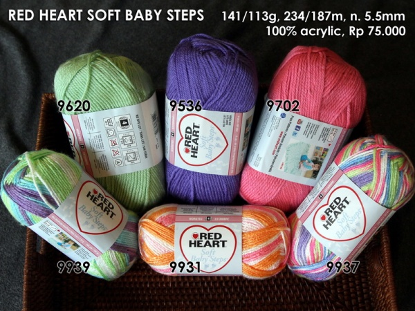Red Heart Soft Baby Steps