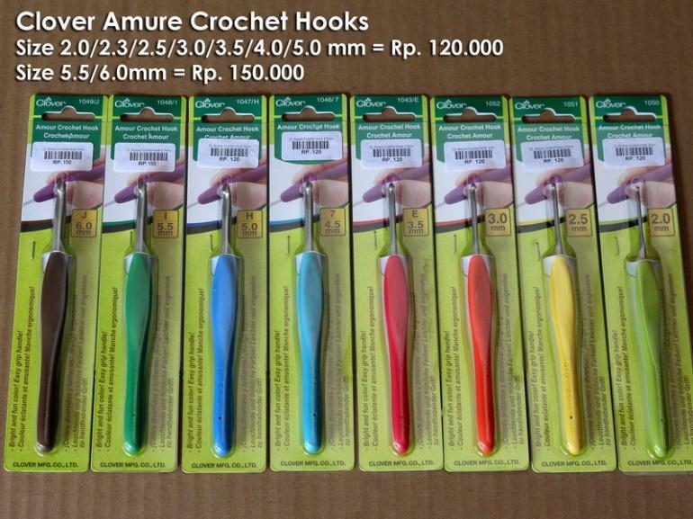 Clover Amure Crochet Hook