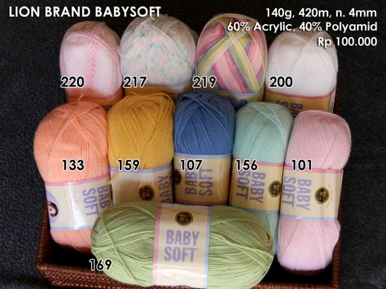 Lion Brand Baby Soft (140g)