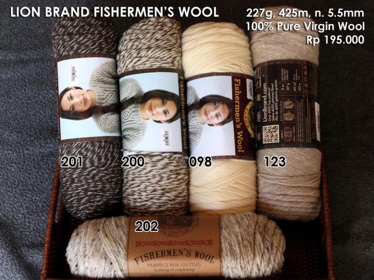 Lion Brand Fisherman's Wool (227g)