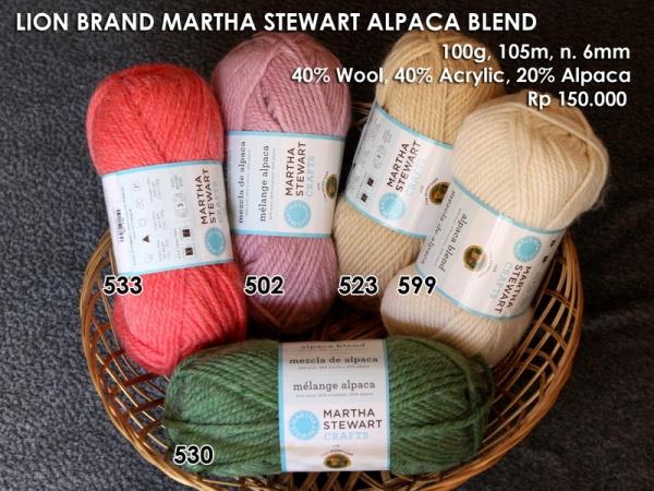 Lion Brand Martha Stewart Alpaca Blend (100g)