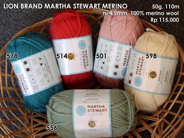 Lion Brand Martha Stewart Merino (50g)