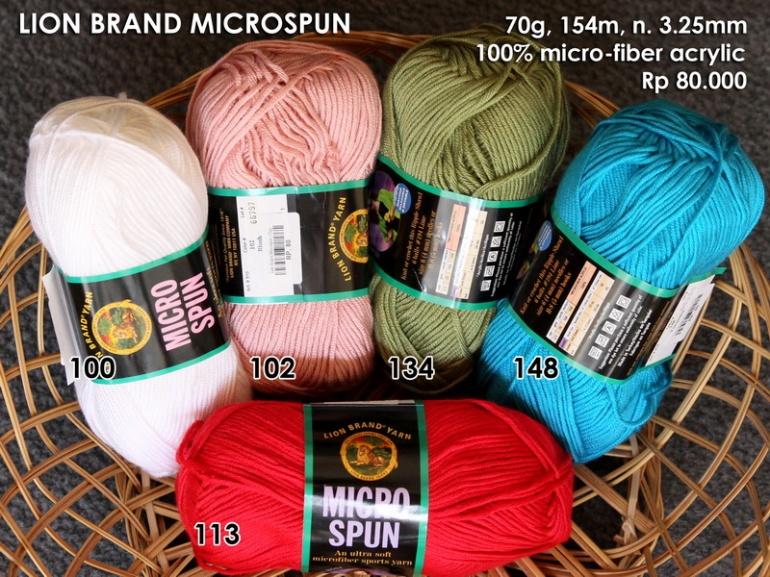 Lion Brand Microspun (70g)