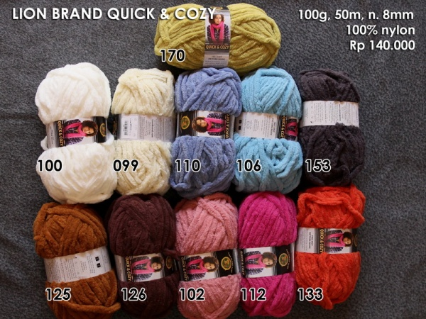 Lion Brand Quick & Cozy (100g)