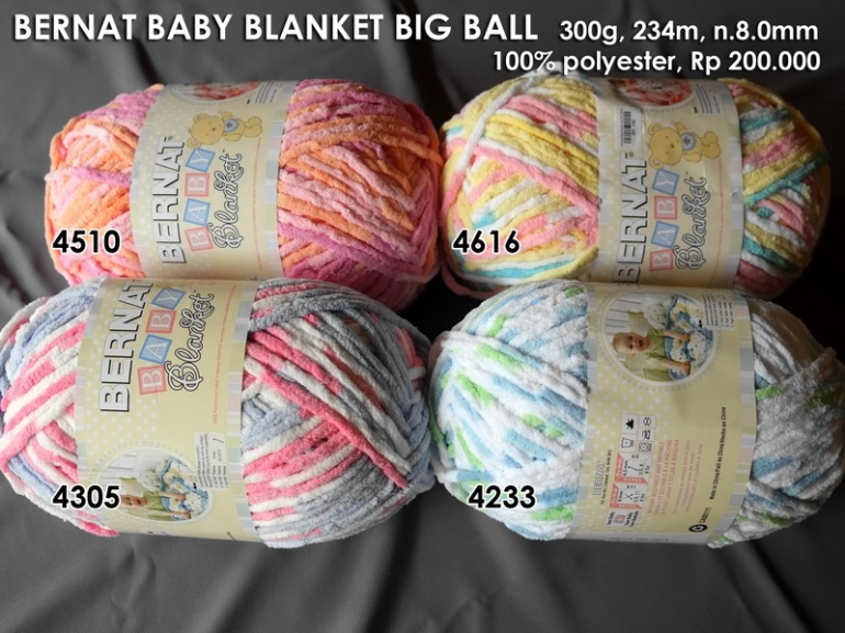 Bernat Baby Blanket Big Ball (300g)