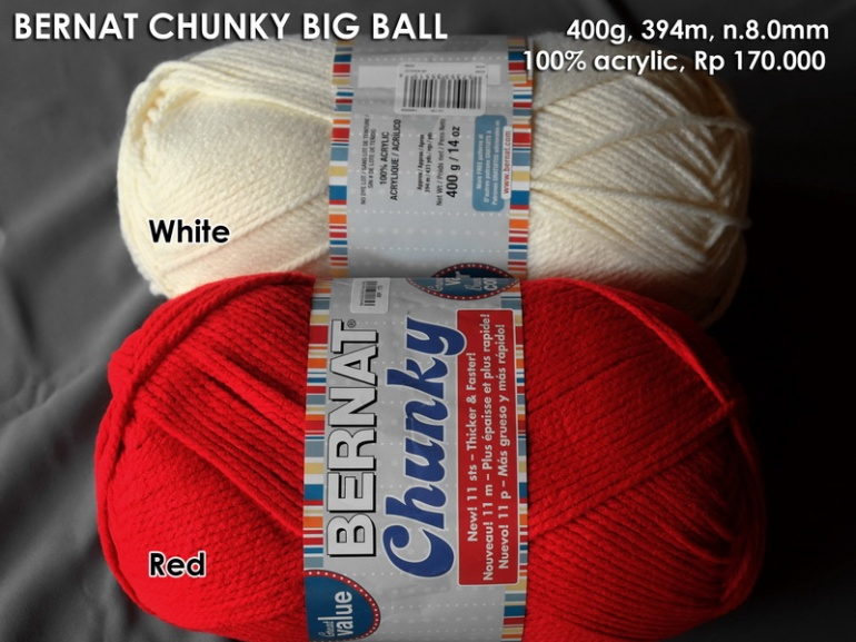 Bernat Chunky Big Ball (400g)