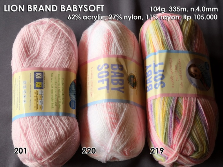 Lion Brand Babysoft (140g)