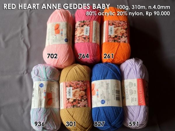 Red Heart Anne Geddes Baby (100g)