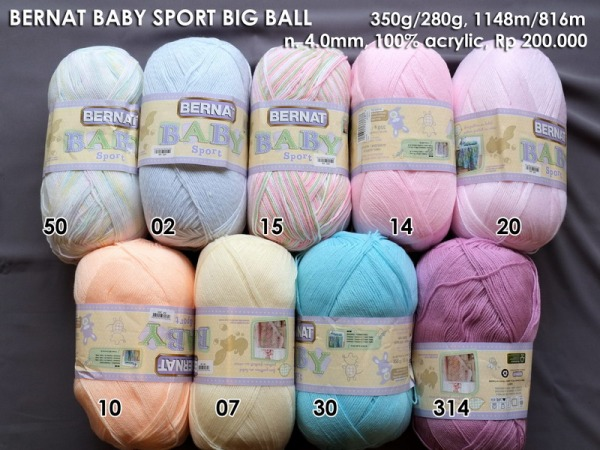 Bernat Baby Sport Big Ball 350g