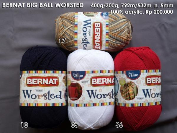 Bernat  Big Ball Worsted Yarn 400g