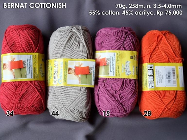Bernat Cottonish 70g