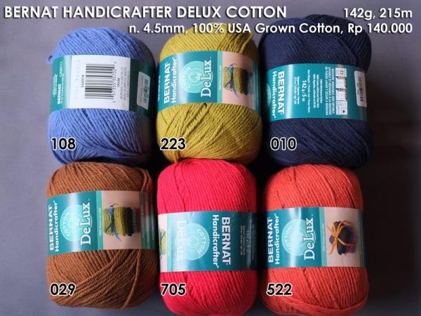 Bernat Handicrafter DeLux Cotton 142g