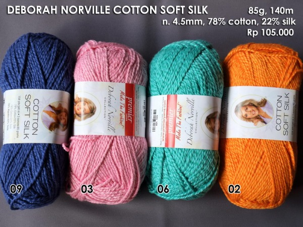 Deborah Norville Cotton Soft Silk 85g