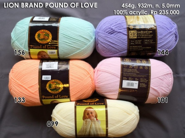 Lion Brand Pound Of Love Baby 454g