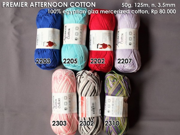 Premier Afternoon Cotton 50g