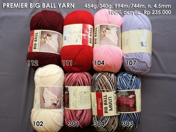 Premier Big Ball Yarn 454g