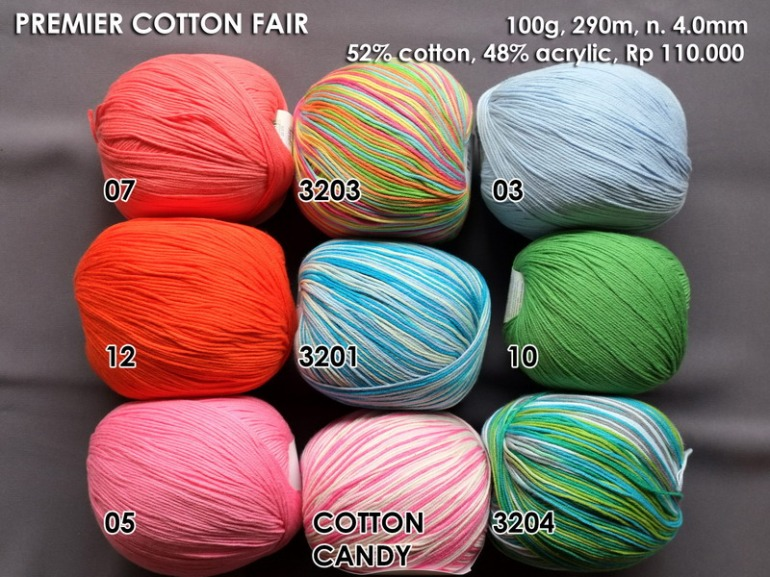 Premier Cotton Fair 100g