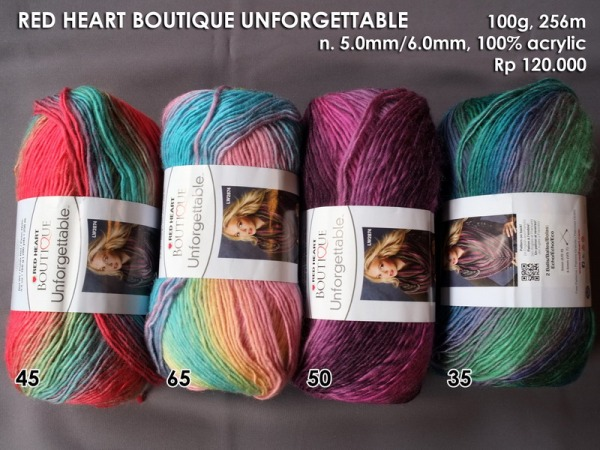 Red Heart Boutique Unforgettable 100g