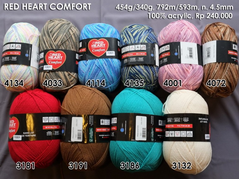Red Heart Comfort 454g