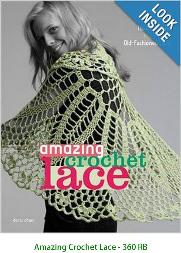 Amazing Crochet Lace - 360 RB