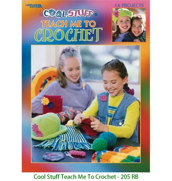 Cool Stuff Teach Me To Crochet - 205 RB