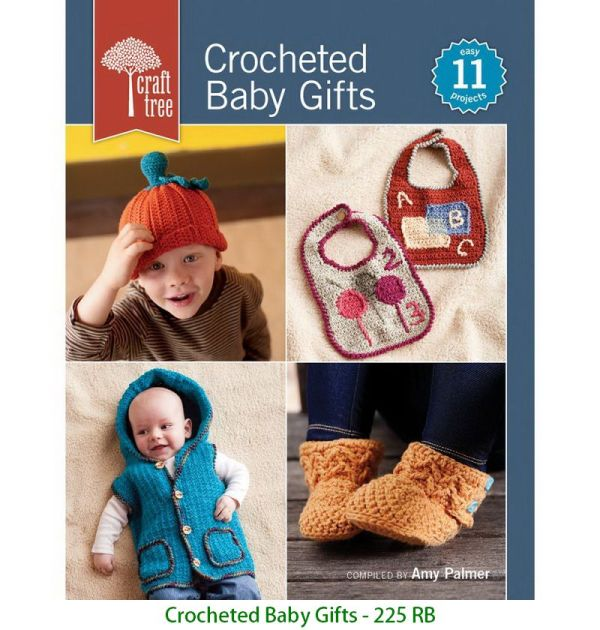 Crocheted Baby Gifts - 225 RB