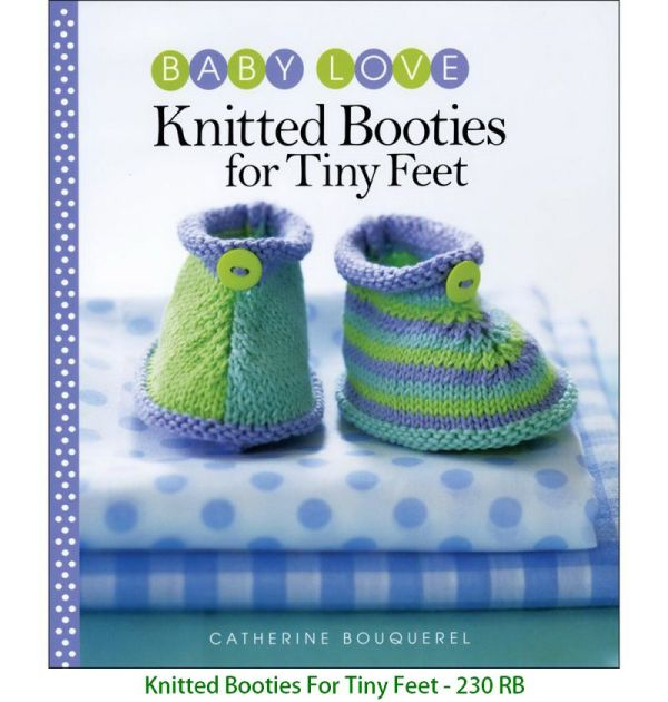 Knitted Booties For Tiny Feet - 230 RB