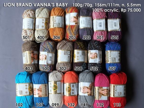 Lion Brand Vanna's Baby 100g