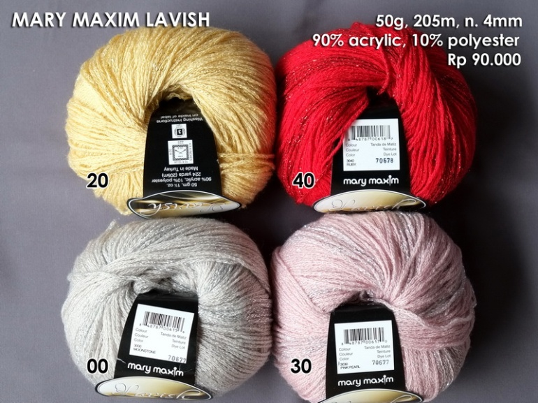 Mary Maxim Lavish 50g