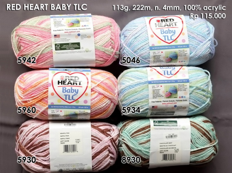 Red Heart Baby Tlc 141g